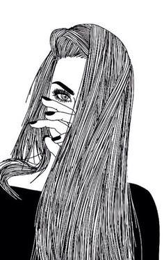 Bad Girl Sad Girl Tumblr Drawing