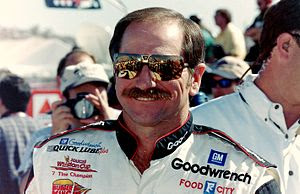 NASCAR champion Dale Earnhardt, taken by offic...