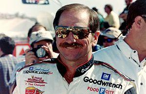 NASCAR champion Dale Earnhardt, taken by offic...