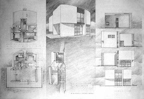 Architecture Drawing Design Hand In Ideas