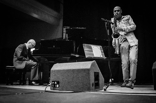 The Bad Plus with Joshua Redman + Jeremy Pelt Quintet - Mon 23 July 2012 - The Queen's Hall, Edinburgh -0083