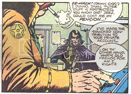 'Damn cigs!' Take comfort in the fact that, as a friend of GrimJack's, it's unlikely to be smoking that kills you.
