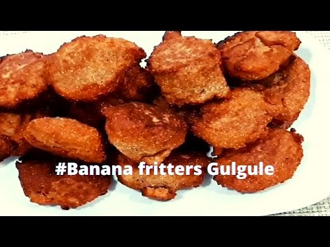 Banana fritters Gulgule | Healthy Indian Foods