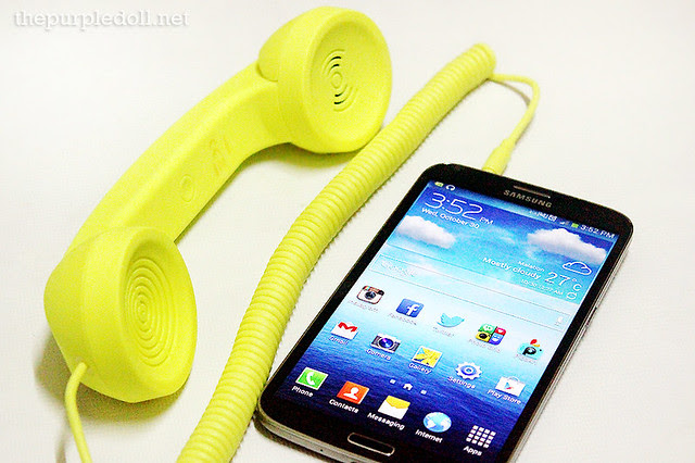 Native Union Pop Phone with Samsung Galaxy Mega