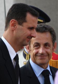 M. Sarkozy et Assad