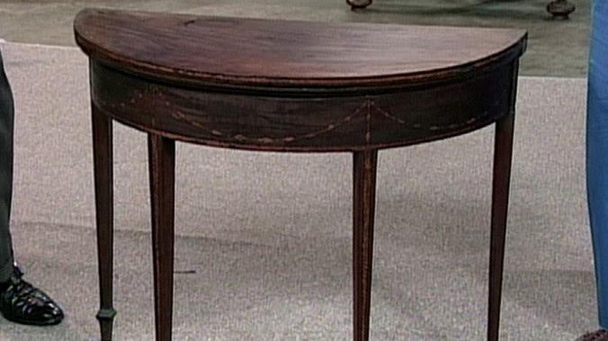Seymour Card Table Ca 1794 Antiques Roadshow Pbs
