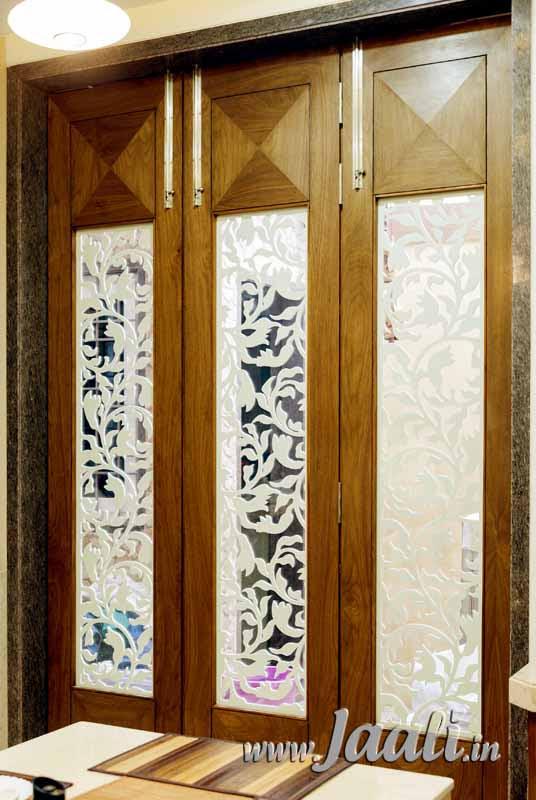 main glass door design in india  | Contemporary Main Door Design