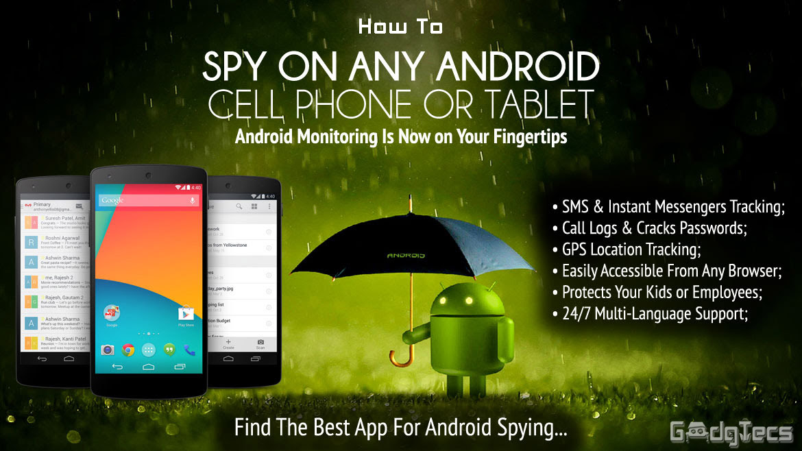how to spy on android