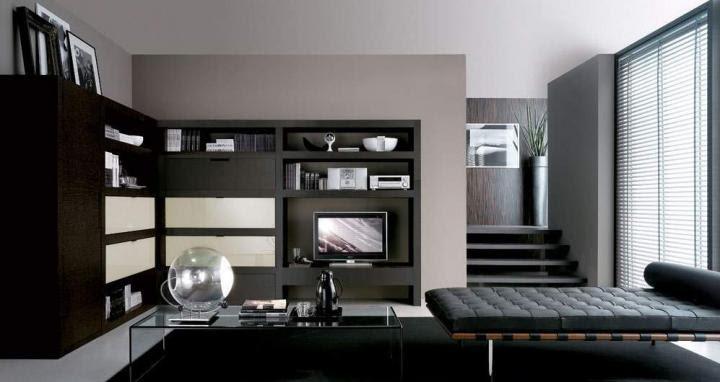 Ideas de decoración: uso del color negro