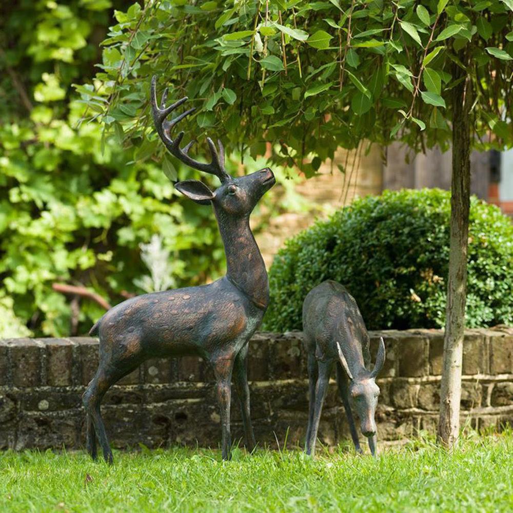 Large Animal Garden Statues|Suffolk Show Deer Statue ...