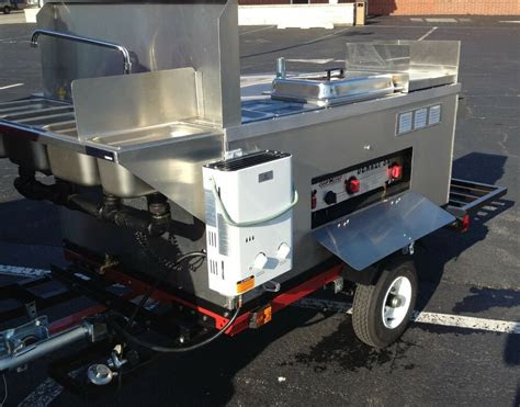 nsf big dawg hot dog mobile food cart catering trailer