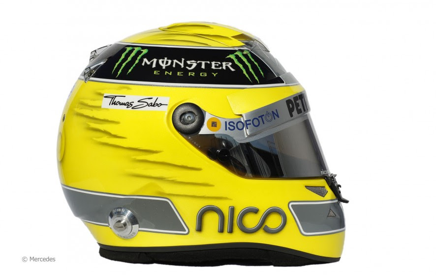 NewMotoring Nico Rosberg Helmet - NewMotoring