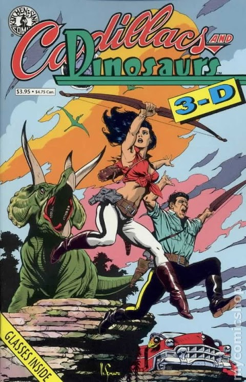 Cadillacs And Dinosaurs Comic Book
