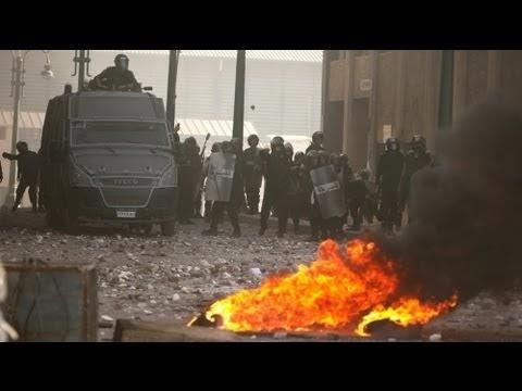 Manifestações no Egito geram confrontos
