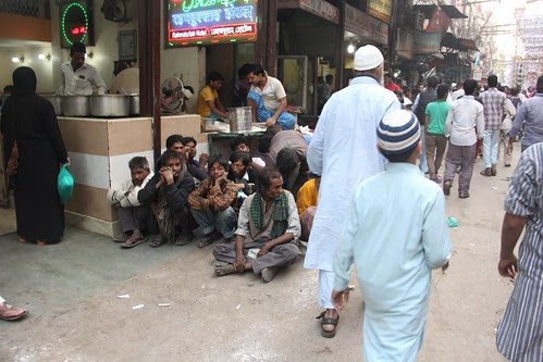 Somebody big shot had said you get food for Rs 5 at Jumma Masjid area.. by firoze shakir photographerno1