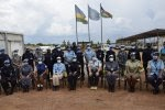 UNMISS Women Network bid farewell to Rwandan female Police peacekeepers #rwanda #RwOT
