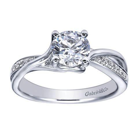 Gabriel & Co. Engagement Rings 0.15ctw Diamond Mounting