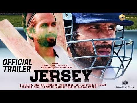Jersey   Official Concept Trailer   Shahid Kapoor   Mrunal Thakur   Nani   2020   Concept Trailer