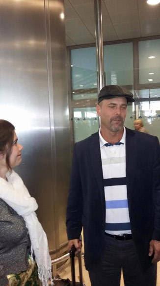 Gerardo Hernández arriba  a Islas Canarias.