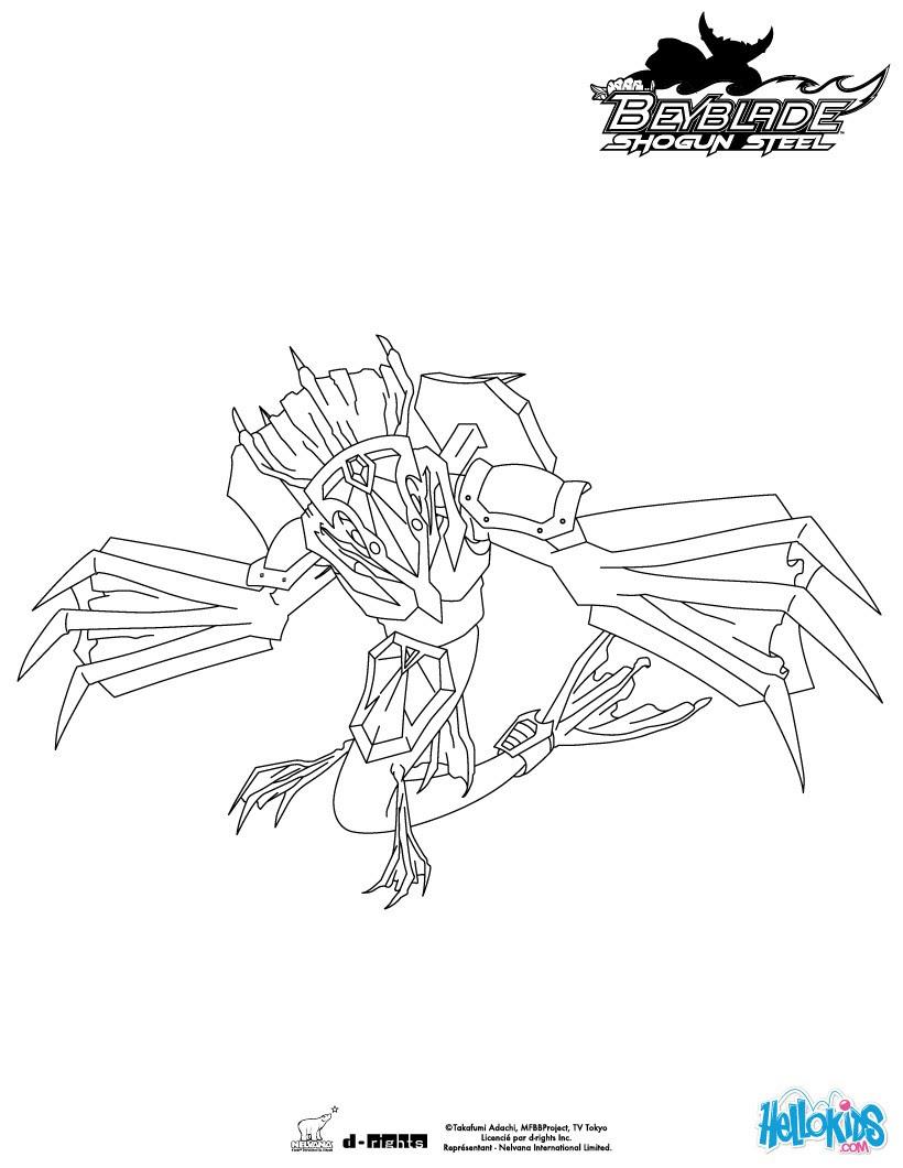Zyro frontal Leviathan der Beschützer Leviathan der Beschützer BEYBLADE Team