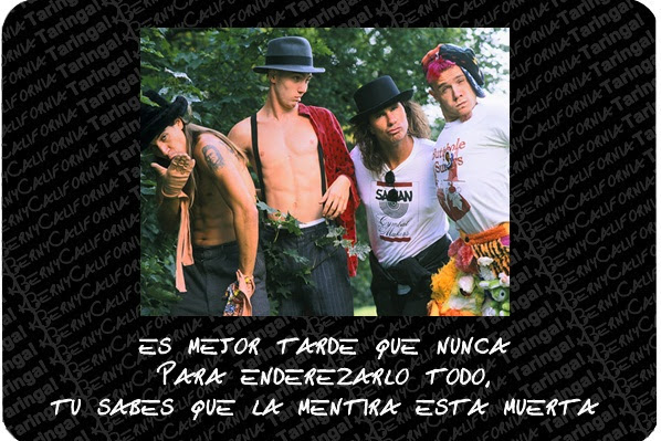 Frases De Red Hot Chili Peppers En Espanol Imagenes En Taringa