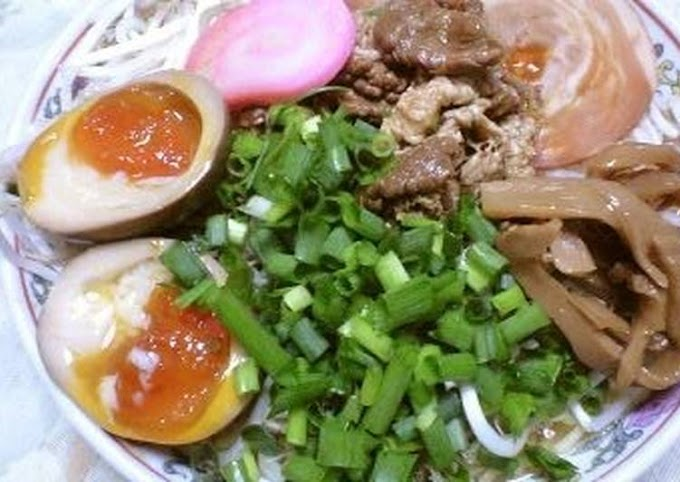 So this Prepare Yummy Food My Bean Sprout Soy Sauce Ramen Recipe