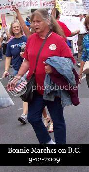 Bonnie Kuzminski Marches on DC