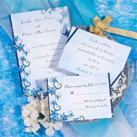 Wedding By Designs: Blue Wedding Invitations Fresh and Glamour