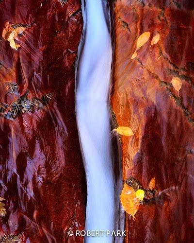 """Silk Stream-"" Zion National Park By Robert Park http://www.rob7ert-park.com by Robert Park Photography"