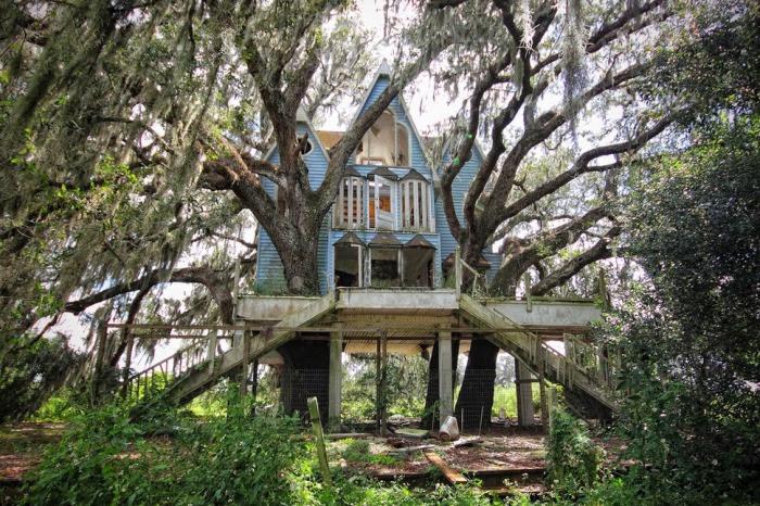 Заброшенный дом во Флориде.