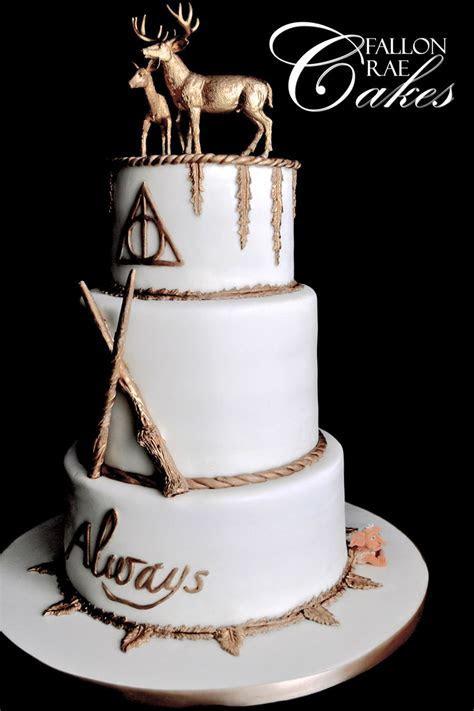 Harry Potter Wedding Cake   CakeCentral.com