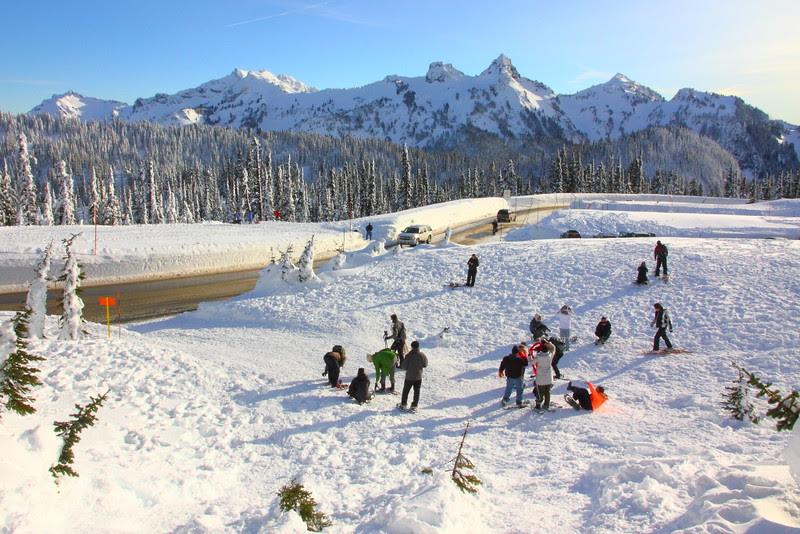 IMG_0574 Ranger-Led Snowshoe Walk