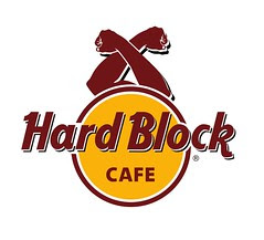Hard Rock Cafe, concept by Clay Claiborne, graphic by Mike Steele