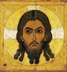 Mandilion début XIIe école de Novgorod Galerie Tretyakov Moscou