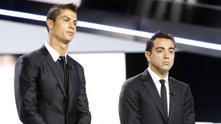 Image result for ronaldo xavi