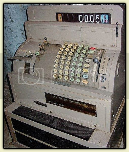 Old-School Cash Register
