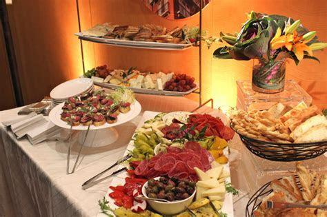 Buffet Setup   Corcoran Caterers
