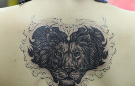 Heart Of A Lion Tattoos Tattoos Designs Ideas