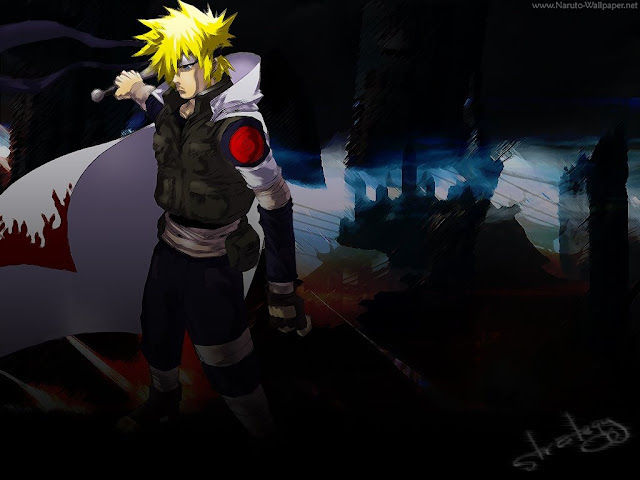 Naruto Wallpaper - Yundaime The 4th http://www.softstills.com/2014/11/naruto-wallpaper-yundaime-4th.html