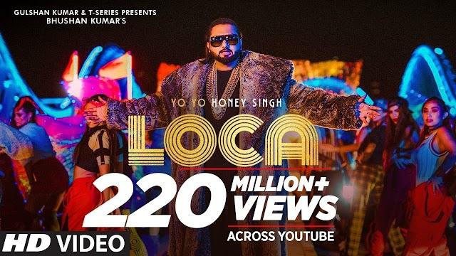 Yo Yo Honey Singh : LOCA Lyrics