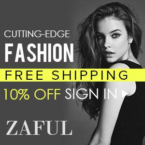 10% OFF Sign In @zaful.com!