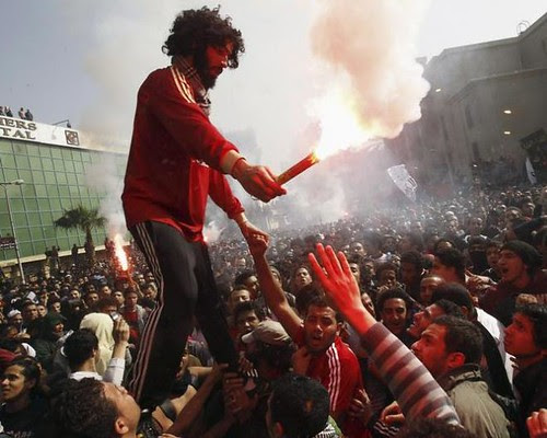 Unrest spreads to Port Said in Egypt where 30 people were killed on January 27, 2013. The unrest war sparked by verdicts convicting suspects of murder last February 11. by Pan-African News Wire File Photos