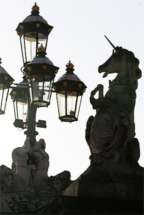 Lamp and Unicorn
