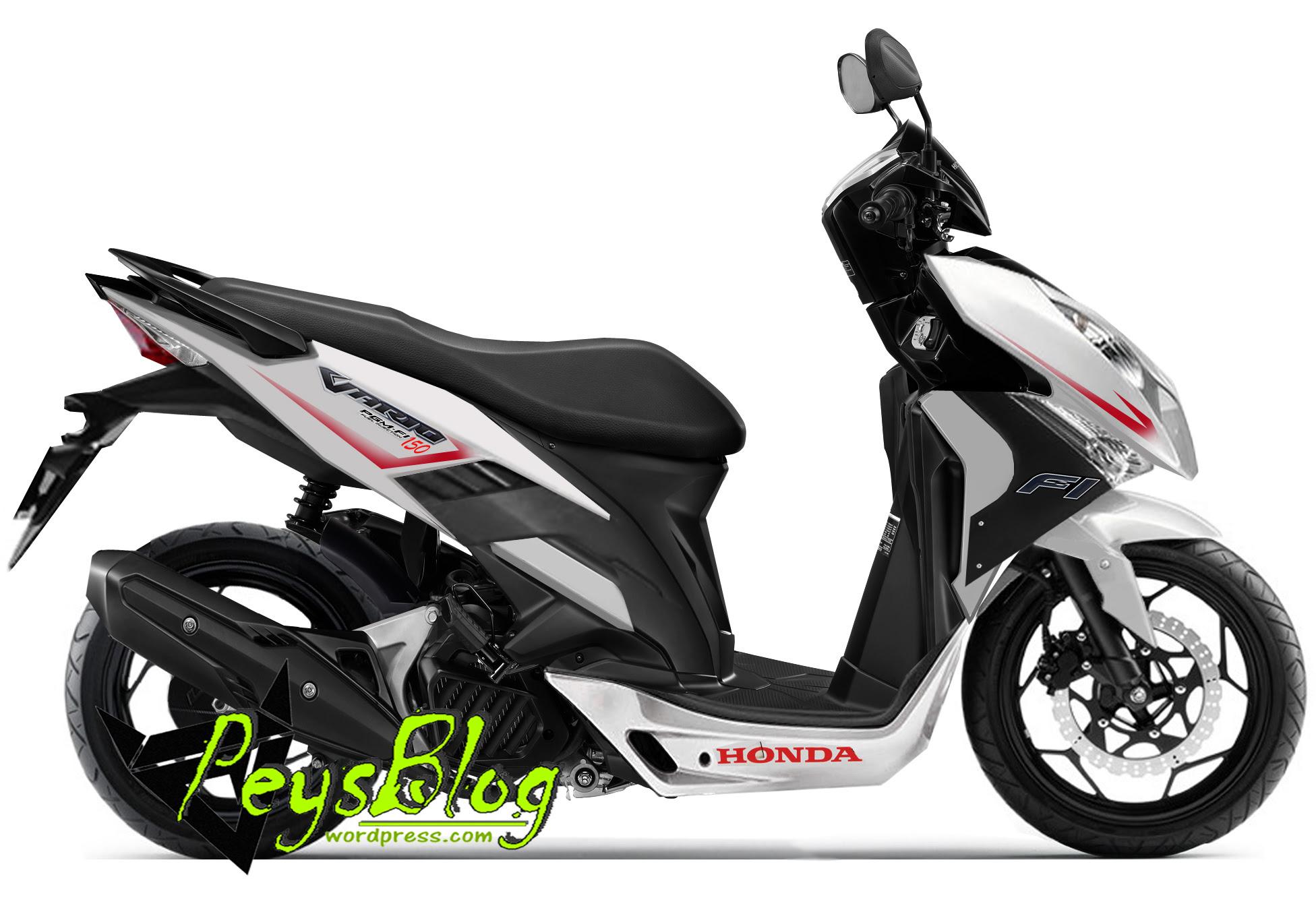 Modifikasi Motor Honda Vario F1 Motor Asap