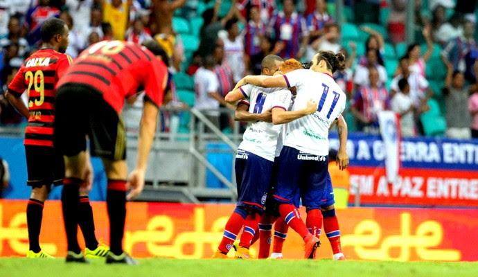 Bahia x Sport Copa do Nordeste (Foto: Aldo Carneiro / Pernambuco Press)