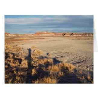 Desert Wave: Petrified Forest National Park Card