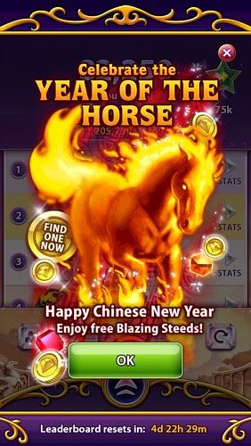 Bejeweled Blitz Year of the Horse