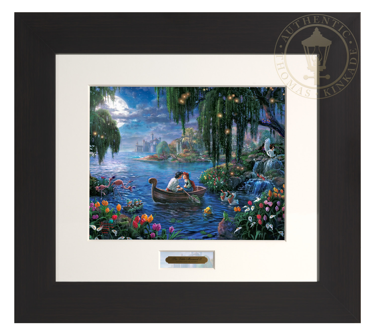 The Little Mermaid Ii Modern Home Collection Espresso Frame