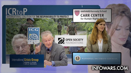 Soros International Crisis Group Samantha Power Angelina Jolie KONY