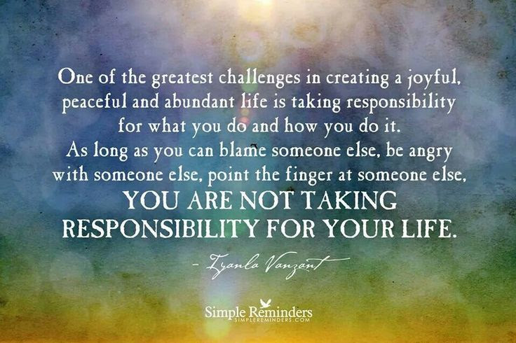 75 Quotes About Taking Responsibility And Not Blaming Others Paulcong